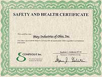 Safety and Health Certificate